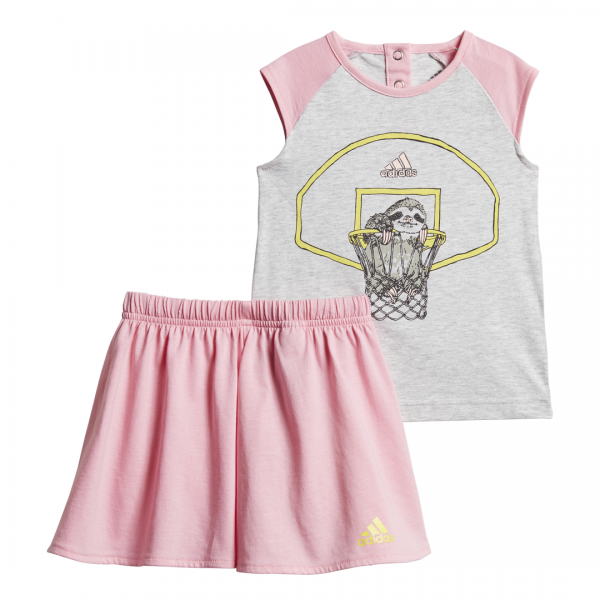 ADIDAS INFANTS GIRLS CLOTHING I ANIMASL SET DV1257