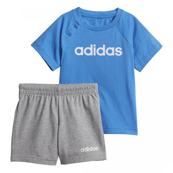 ADIDAS INFANTS BOYS LINEAR SUMMER SET DV1263
