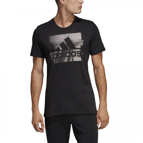ADIDAS MEN CLOTHING MH BOS FOIL TEE DV3080