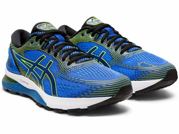 ASICS MEN RUNNING GEL-NIMBUS 21 SHOES 1011A169-400