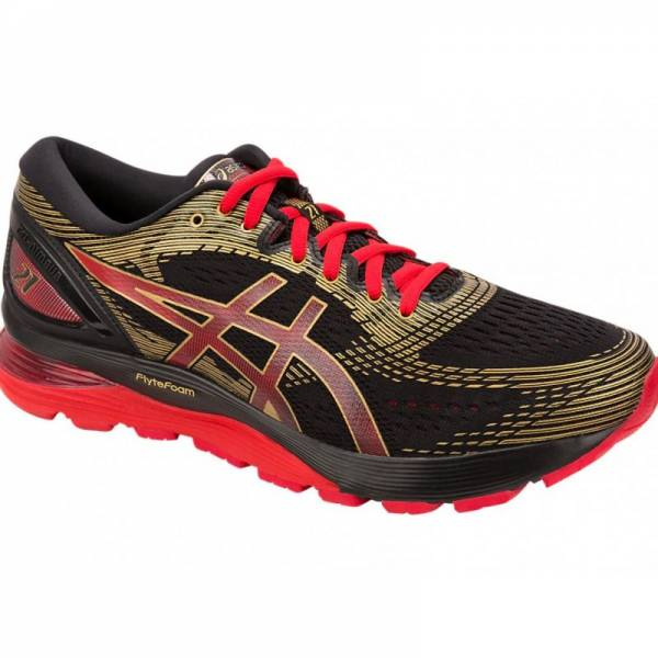 ASICS MEN RUNNING GEL-NIMBUS 21 SHOES 1011A257-001