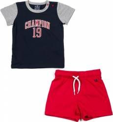 CHAMPION INFANTS BOYS LIGHT COTTON JERSEY SET 304944