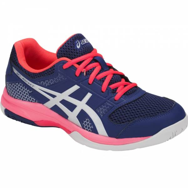 ASICS WOMEN VOLLEYBALL GEL-ROCKET 8 SHOES B756Y-400