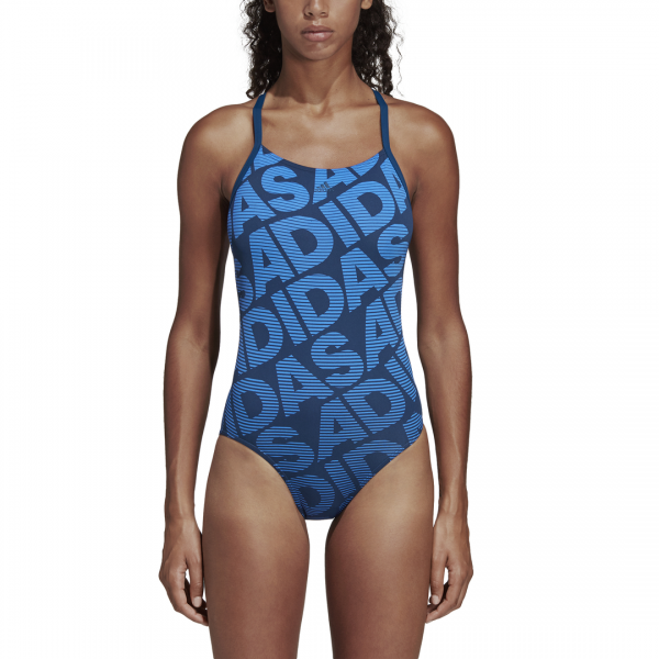ADIDAS WOMEN CLOTHING SWIMMING ALL OVER PRINT SWIMSUIT DQ3245