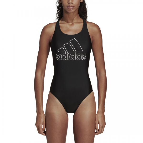 ADIDAS WOMEN CLOTHING SWIMMING ATHLY V LOGO SWIMSUIT DT4837