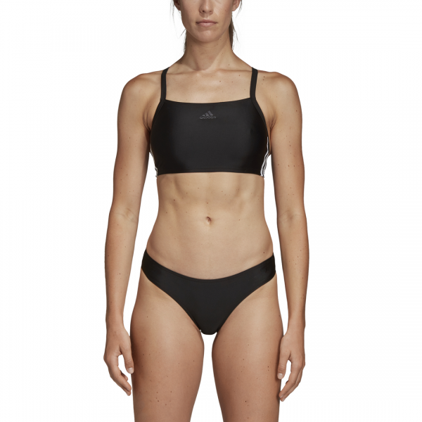ADIDAS WOMEN CLOTHING SWIMMING 3 STRIPES BIKINI DQ3309