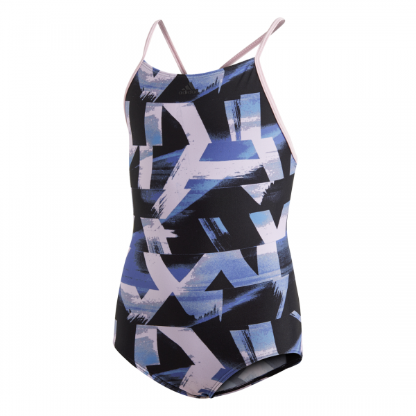 ADIDAS KIDS GIRLS CLOTHING SWIMMING ALLOVER PRINT SWIMSUIT DQ3374