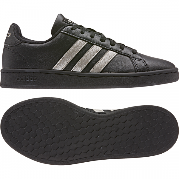 ADIDAS WOMEN ESSENTIALS GRAND COURT SHOES EE8133