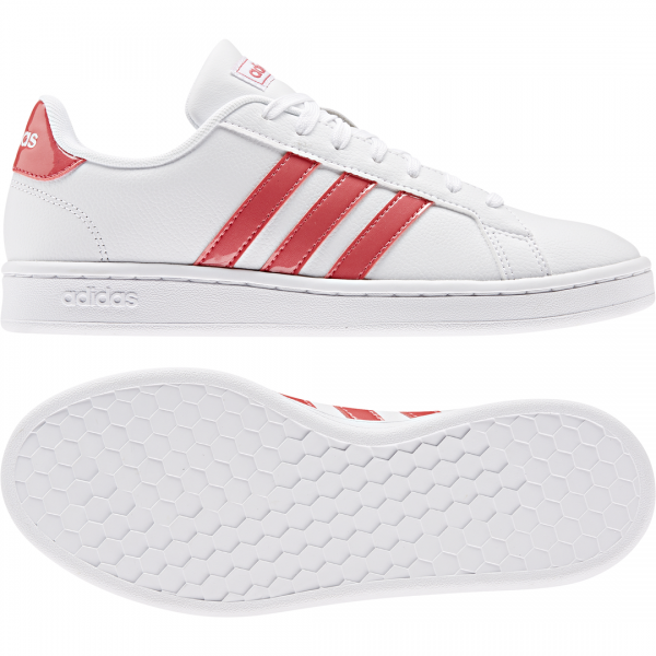 ADIDAS WOMEN ESSENTIALS GRAND COURT SHOES EE8178