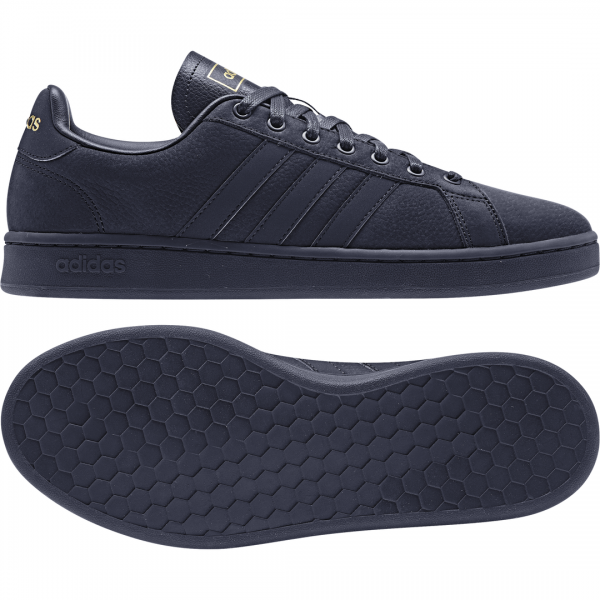 ADIDAS MEN ESSENTIALS GRAND COURT SHOES EE7883