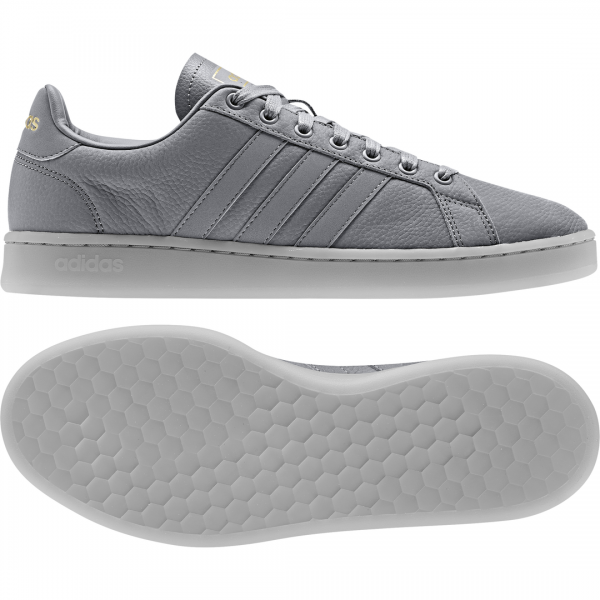 ADIDAS MEN ESSENTIALS GRAND COURT SHOES EE7884