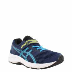 ASICS KIDS BOYS RUNNING CONTEND 5 PS SHOES 1014A048-404