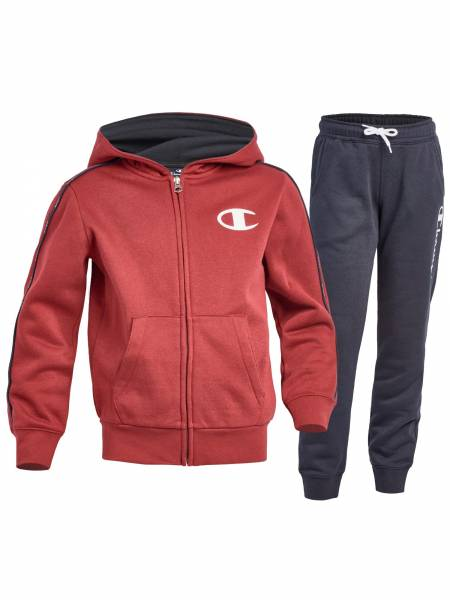 CHAMPION KIDS BOYS CLOTHING HOODED FULL ZIP SUIT 305091-RS505