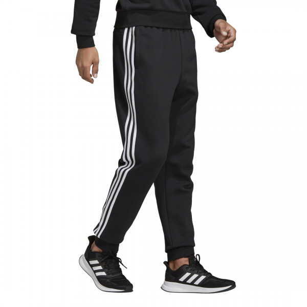 ADIDAS MEN CLOTHING ESSENTIALS 3 STRIPES TAPERED CUFFED PANTS DQ3095