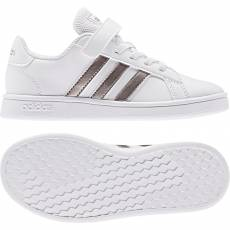 ADIDAS KIDS GIRLS LIFESTYLE GRAND COURT SHOES EF0107