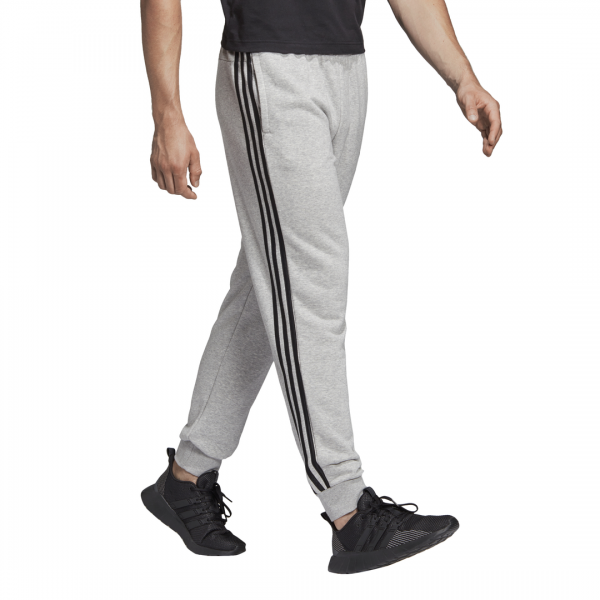 ADIDAS MEN CLOTHING ESSENTIALS 3 STRIPES TAPERED CUFFED PANTS DQ3077