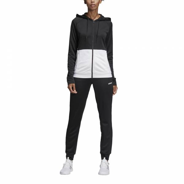 ADIDAS WOMEN CLOTHING WTS LINEAR FT HOODIE TRACKSUIT DV2425
