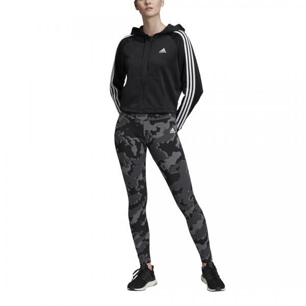 ADIDAS WOMEN CLOTHING HOODIE AND TIGHTS TRACKSUIT DZ8708