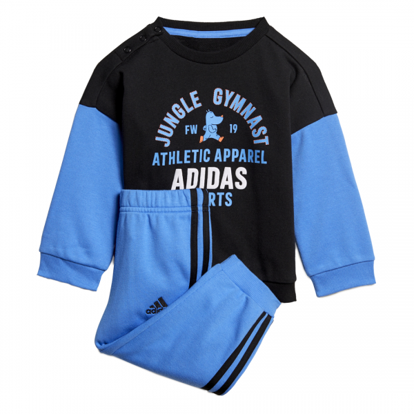 ADIDAS INFANTS BOYS CLOTHING GRAPHIC TERRY JOGGER SET ED1169