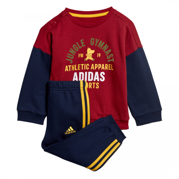 ADIDAS INFANTS BOYS CLOTHING GRAPHIC TERRY JOGGER SET ED1170