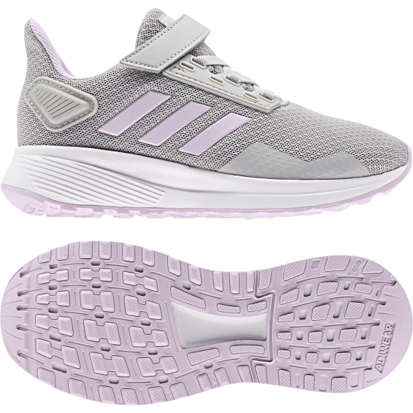 ADIDAS KIDS GIRLS RUNNING DURAMO 9 SHOES EE6927