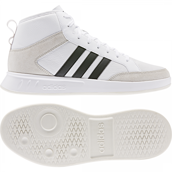 ADIDAS MEN LIFESTYLE COURT 80S MID SHOES EE9678