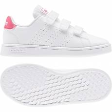 ADIDAS KIDS GIRLS LIFESTYLE ADVANTAGE SHOES EF0221