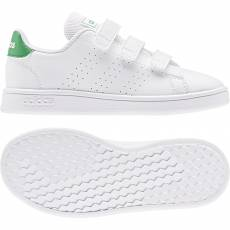 ADIDAS KIDS BOYS LIFESTYLE ADVANTAGE SHOES EF0223