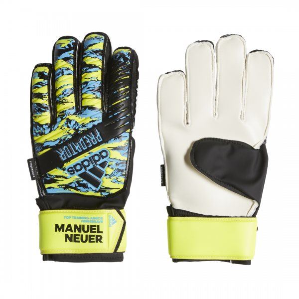 ADIDAS KIDS FOOTBALL ACCESSORIES PREDATOR MANUEL NEUER TOP TRAINING FINGERSAVE GLOVES DU2625