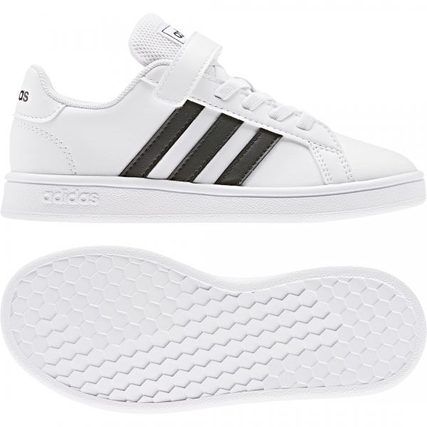 ADIDAS KIDS LIFESTYLE GRAND COURT SHOES EF0109