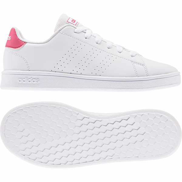 ADIDAS KIDS GIRLS LIFESTYLE ADVANTAGE SHOES EF0211