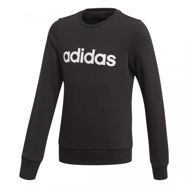 ADIDAS KIDS GIRLS CLOTHING LINEAR SWEARSHIRT EH6157