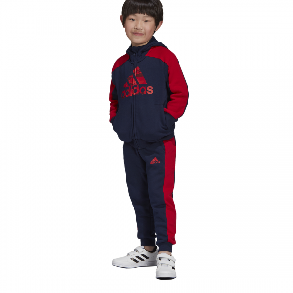 ADIDAS KIDS BOYS CLOTHING GRAPHIC FULL ZIP HOODIE SET FK5876