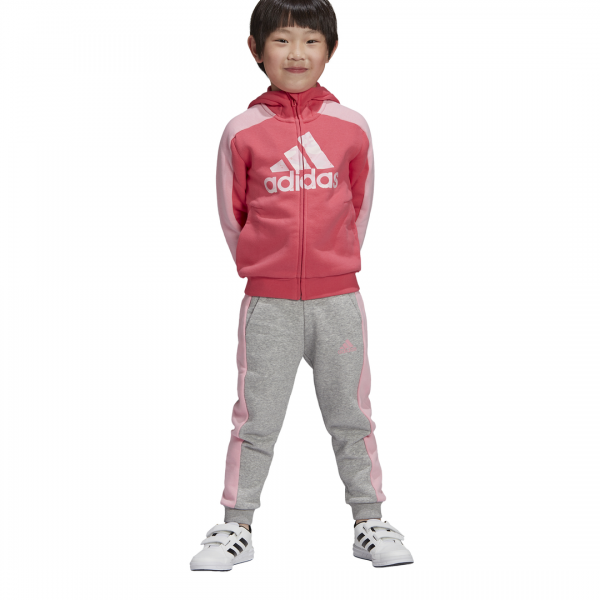ADIDAS KIDS GIRLS CLOTHING GRAPHIC FULL ZIP HOODIE SET FK5877