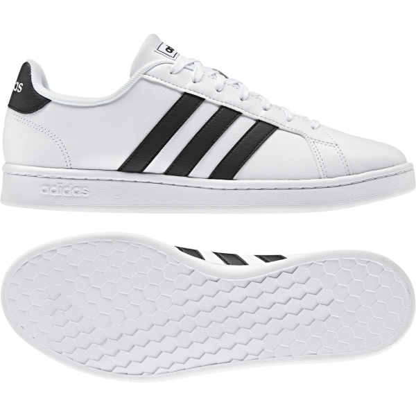 ADIDAS MEN LIFESTYLE GRAND COURT SHOES F36392