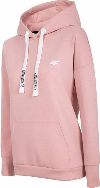 4F WOMEN CLOTHING HOODIE BLD004 CORAL