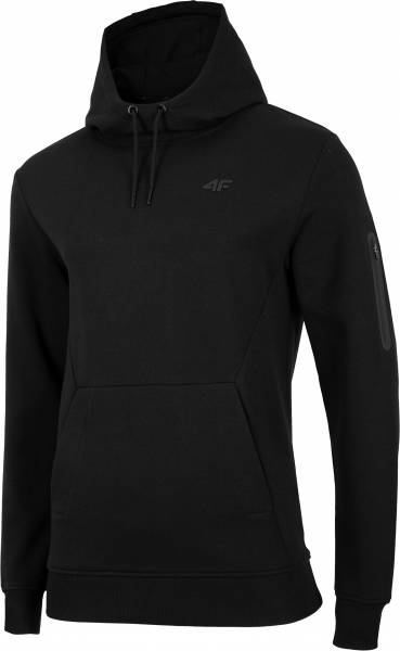 4F MEN CLOTHING HOODIE BLM070 BLACK