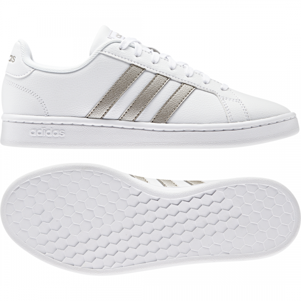 ADIDAS WOMEN LIFESTYLE GRAND COURT SHOES F36485