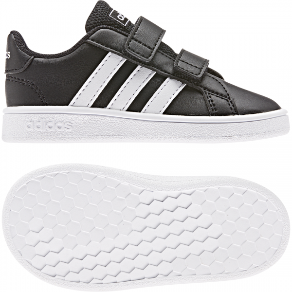 ADIDAS INFANTS LIFESTYLE GRAND COURT SHOES EF0117