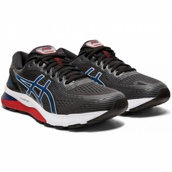 ASICS MEN RUNNING GEL-NIMBUS 21 SHOES 1011A169-005