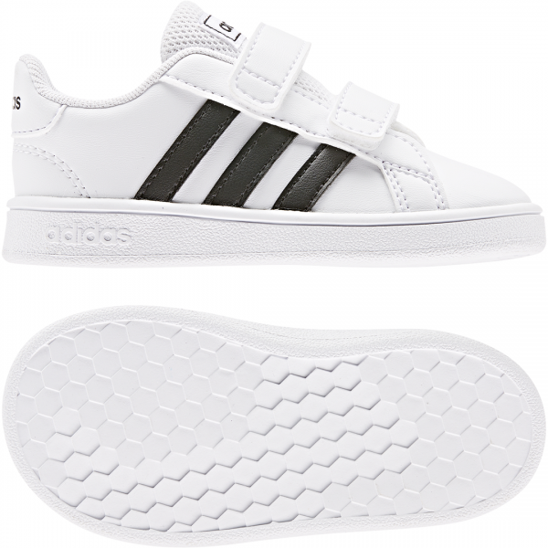 ADIDAS INFANTS KIDS GRAND COURT SHOES EF0118