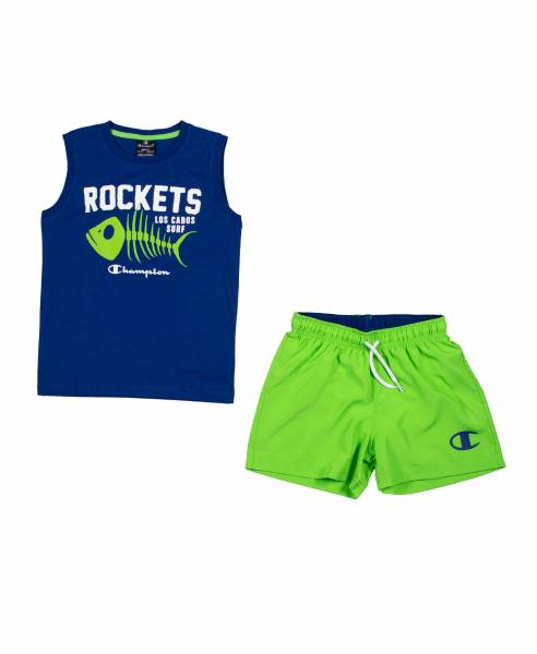 CHAMPION KIDS BOYS CLOTHING SWIMWEAR SET 305279-BS003