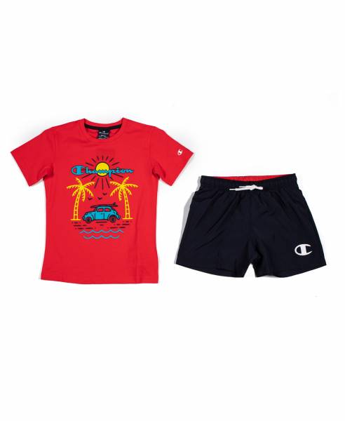CHAMPION KIDS BOYS CLOTHING SWIMWEAR SET 305280-RS046