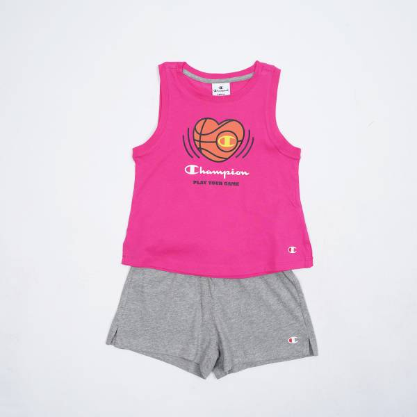 CHAMPION KIDS GIRLS CLOTHING SET TRACKSUIT 403872-PS025