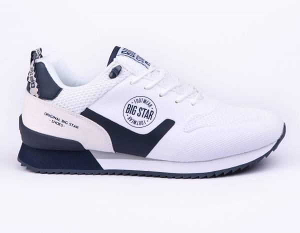 BIG STAR MEN SNEAKERS WHITE SHOES FF174204