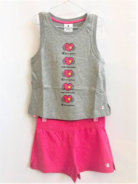 CHAMPION KIDS GIRLS CLOTHING SET 403872-EM006