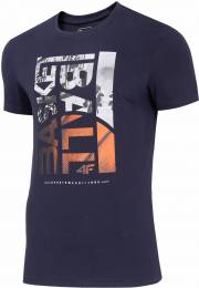 4F MEN CLOTHING T-SHIRT H4L20-TSM031-31S