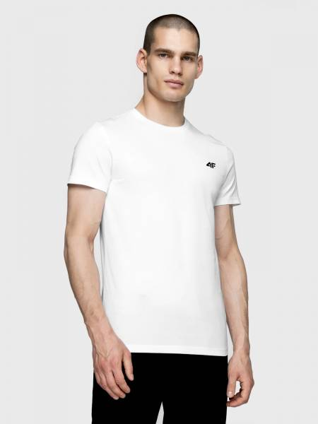 4F MEN CLOTHING T-SHIRT NOSH4-TSM003-10S